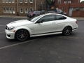 Mercedes Benz C63 AMG - Car Glass Tint Montgomery PA