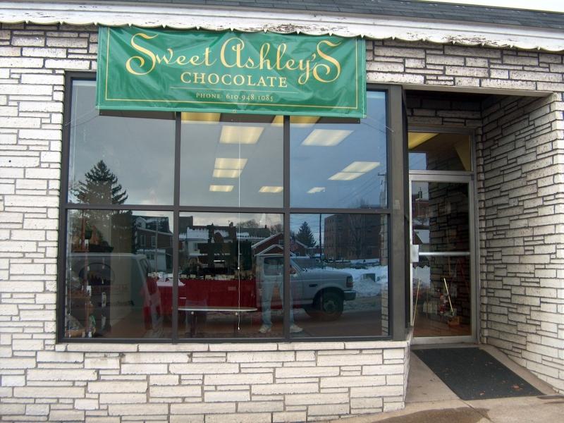 Sweet Ashley's Chocolate - Privacy Window Film PA
